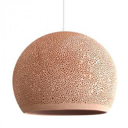 POTT's Sponge Up! Pendant Lamp -Pale Terracotta