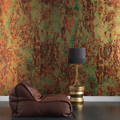 NLXL Piet Hein Eek Metallic Copper Wallpaper