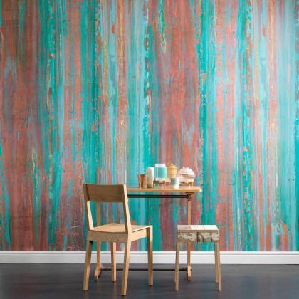 NLXL Piet Hein Eek Spoiled Copper Wallpaper