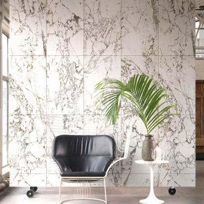 NLXL Materials Wallpaper by Piet Hein Eek - White Marble