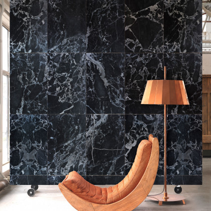 NLXL Materials Wallpaper by Piet Hein Eek - Black Marble