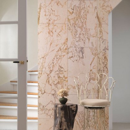 NLXL Materials Wallpaper by Piet Hein Eek - Beige Marble