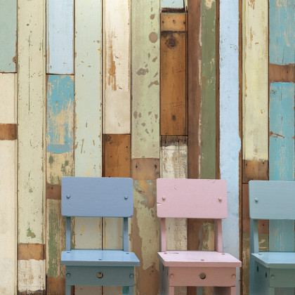 NLXL Scrap wood Wallpaper by Piet Hein Eek - PHE-03