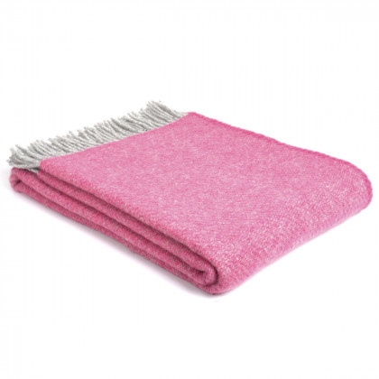 Two Tone Throw - Pink