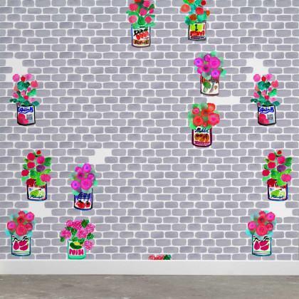 NLXL Paola Navone Gerani Wallpaper