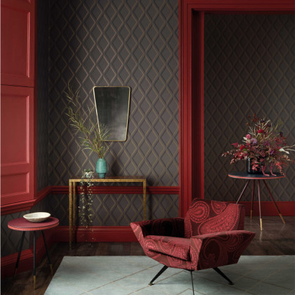 Cole and Son Pompeian Wallpaper - Contemporary Restyled