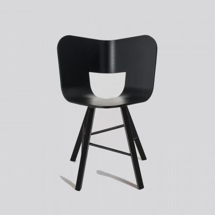 Colé Italian Design Label Tria Wood 4 Chair
