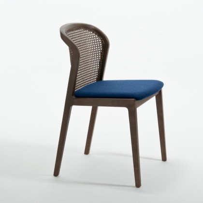 Colé Italian Nord Wool Vienna Chair- Canaletto