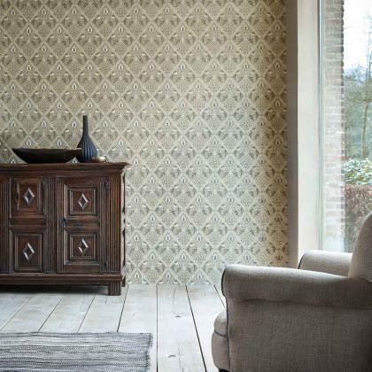 Morris and Co Pure Trellis Wallpaper