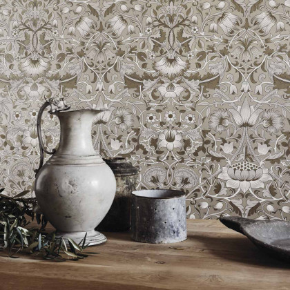 Morris and Co Pure Lodden Wallpaper