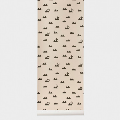 Ferm Living Rabbit Wallpaper
