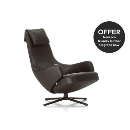 Vitra Repos Lounge Chair - Leather