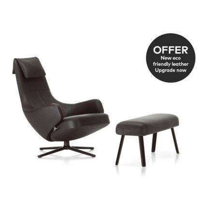 Vitra Repos Lounge Chair And Panchina - Leather