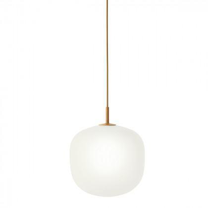 Muuto Rime Pendant Light-Orange-25cm