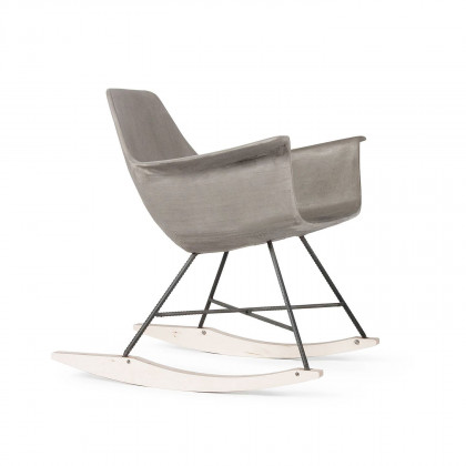 Lyon Beton Concrete Hauteville Rocking Chair