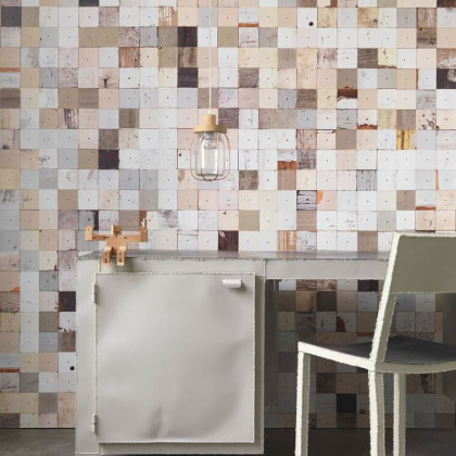 NLXL Scrapwood Wallpaper by Piet Hein Eek PHE-16