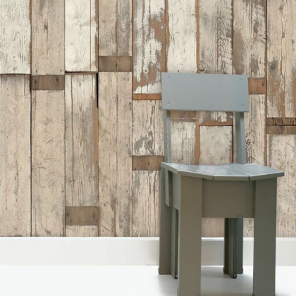 NLXL Scrap wood Wallpaper by Piet Hein Eek - PHE-02