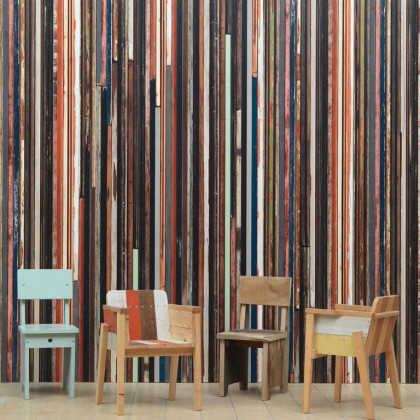 NLXL Scrapwood Wallpaper by Piet Hein Eek PHE-15