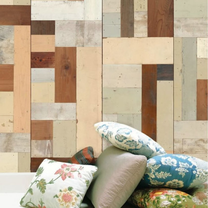 NLXL Scrap wood Wallpaper by Piet Hein Eek - PHE-06