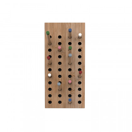 We Do Wood Small Scoreboard Coat Rack