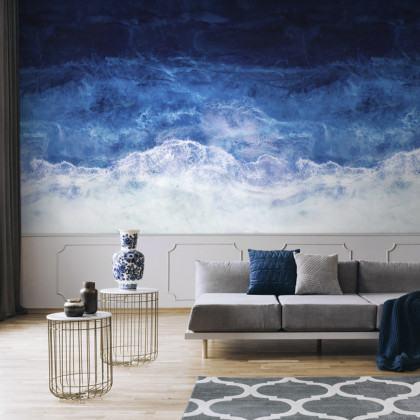 Feathr Shadows Of The Deep Mural Wallpaper