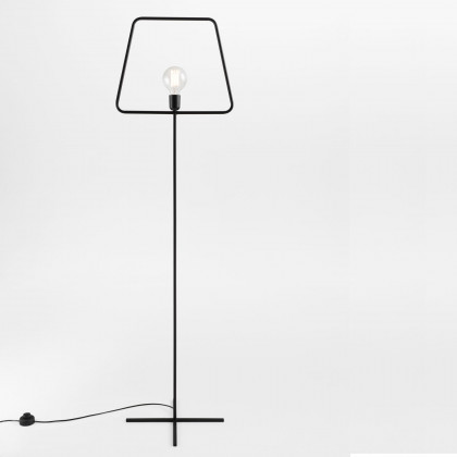 Adolfo Abejon Black Slim L Floor Lamp