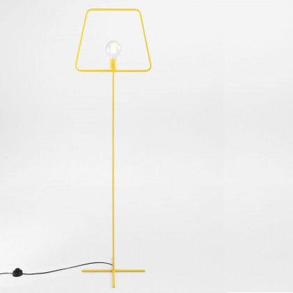 Adolfo Abejon Yellow Slim L Floor Lamp