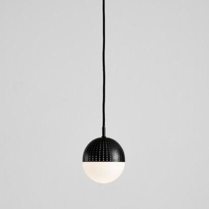 Woud Dot Pendant - Small-Black