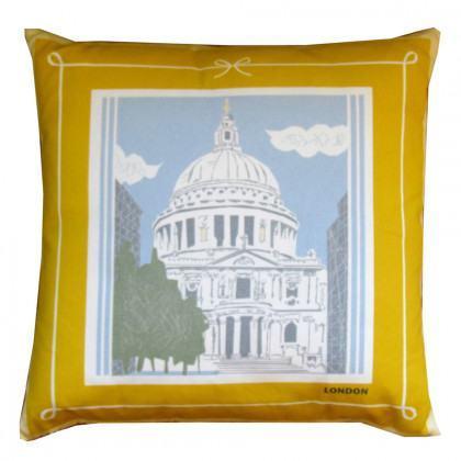 Yukari Sweeney Designs London, Paris, New York- St Pauls Cushion