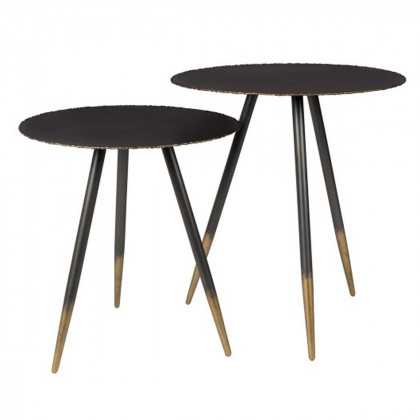 Dutchbone Stalwart Side Table Set of Two