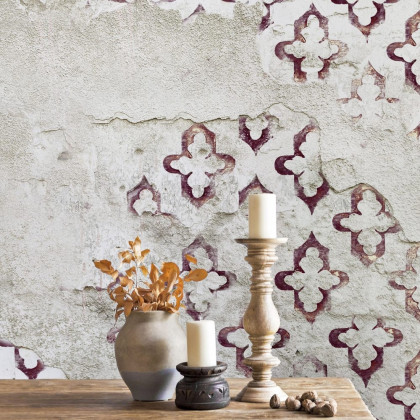 Coordonne Stamp Mural Wallpaper