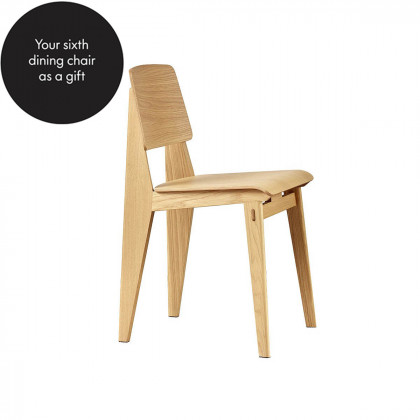 Vitra Standard Chaise Tout Bois Dining Chair