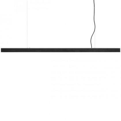 Anour Blued Steel Pendant Strip Lamp