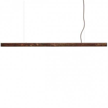 Anour Rusted Steel Strip Pendant Lamp