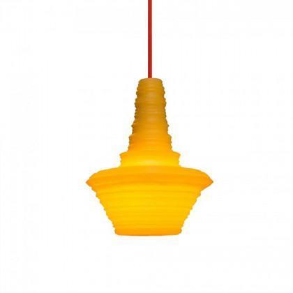 Innermost Stupa Resin Small Pendant Light