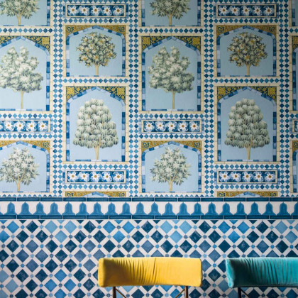 Cole and Son Sultan's Palace Wallpaper - Lawrence Bullard