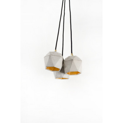 GANTlights T2 bundle Concrete Pendant light