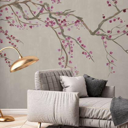 Feathr Takeda Mural Wallpaper