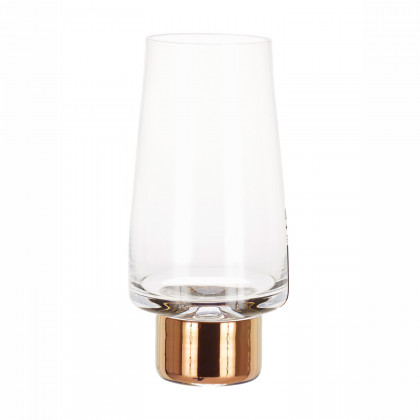Tom Dixon Tank High Ball Glasses x2 - Copper