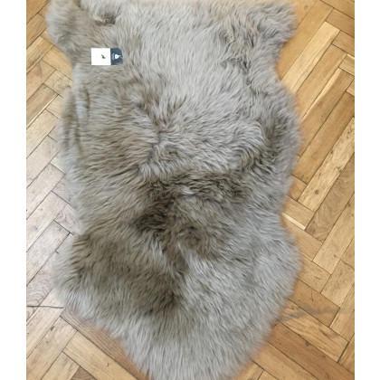 Long Sheepskin Rug - Taupe