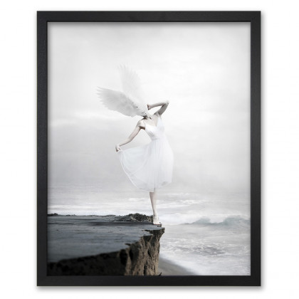 Mineheart The White Sky-XIX Canvas Print