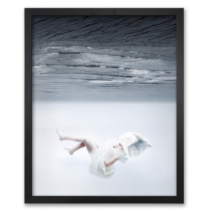 Mineheart The White Sky-XVII Canvas Print