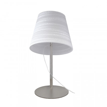 Graypants White Tilt Table Lamp