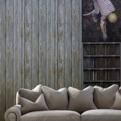 Andrew Martin Plantation Reclaimed Timber Wallpaper