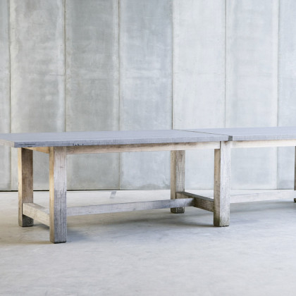 Heerenhuis Indoor / Outdoor Blue Stone TT Table MTM
