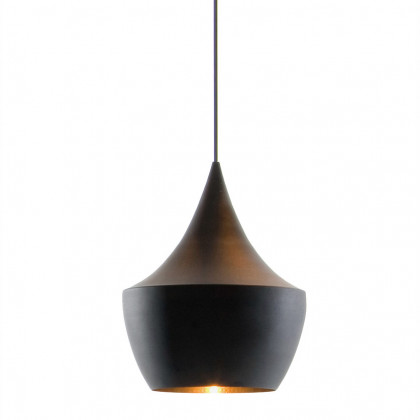 Tom Dixon Beat Fat Black Pendant - Black