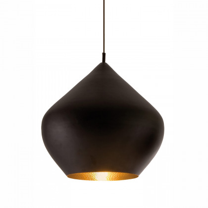 Tom Dixon Beat Stout Black Pendant - Black