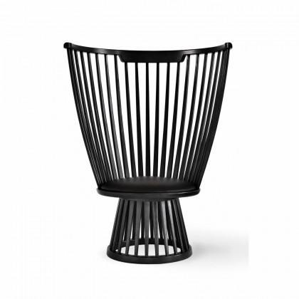 Tom Dixon Fan Chair - Black