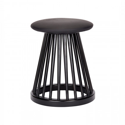 Tom Dixon Fan Stool - Black