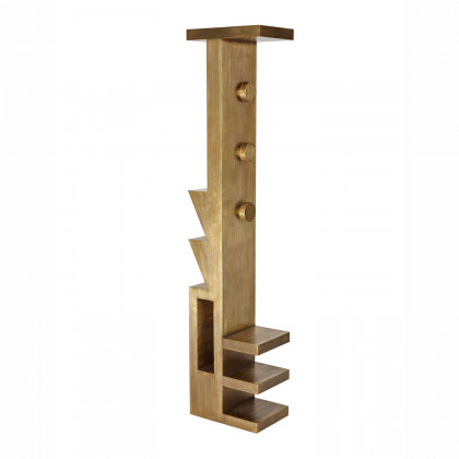 Tom Dixon Mass Brass Coat Stand